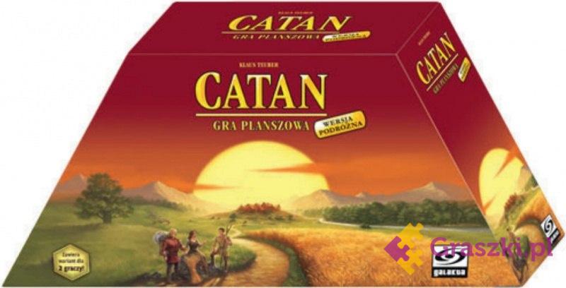 Catan - Wersja Podróżna | Galakta // darmowa dostawa od 249.99 zł // wysyłka do 24 godzin! // odbiór osobisty w Opolu